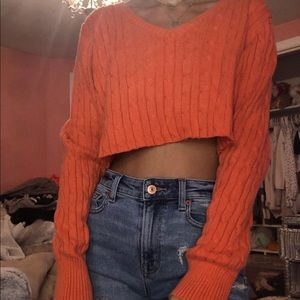 Sweaters - Sweater crop top